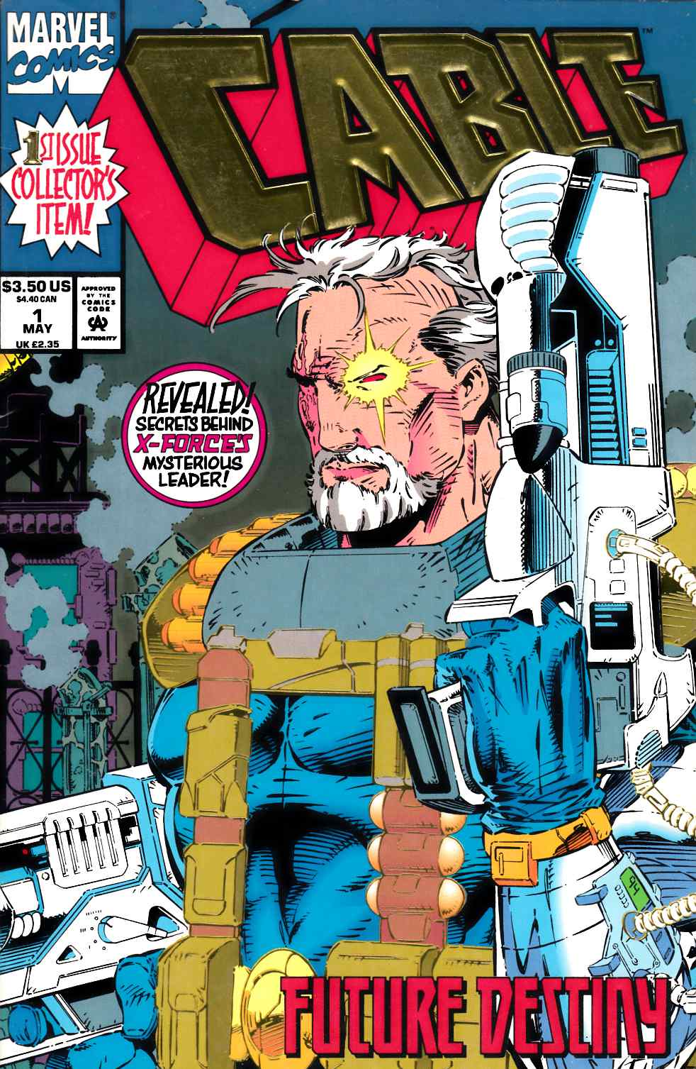 Cable #1 Very Fine (8.0) [Marvel Comic] THUMBNAIL