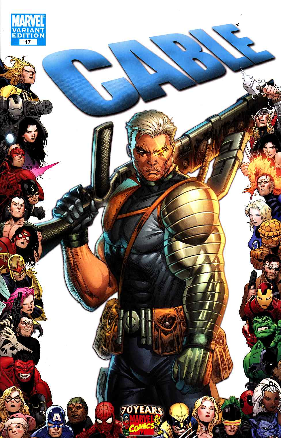 Cable #17 70th Frame Variant Cover [Marvel Comic] – Dreamlandcomics ...