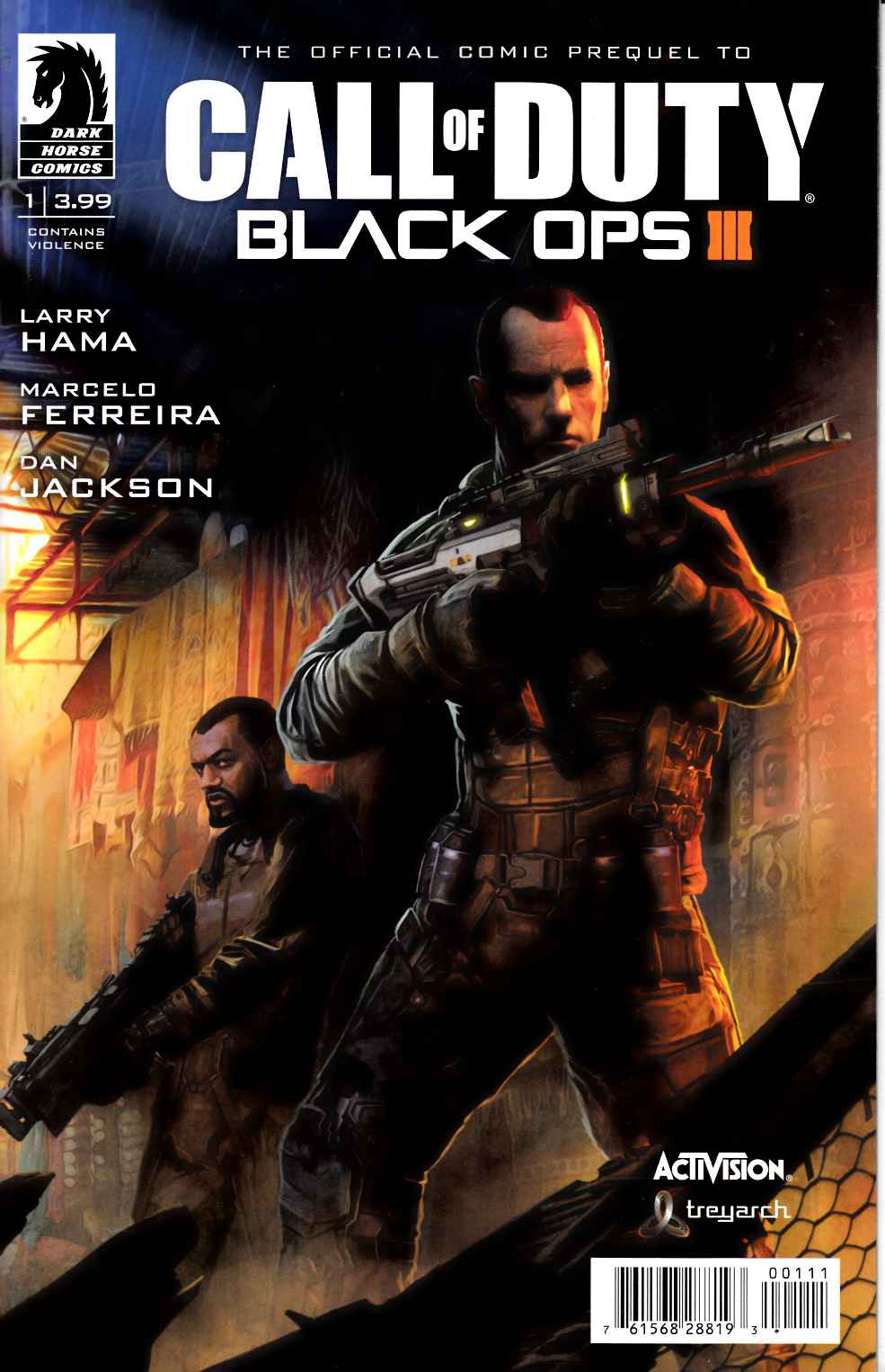 Call of Duty Black Ops III #1 [Dark Horse Comic] THUMBNAIL