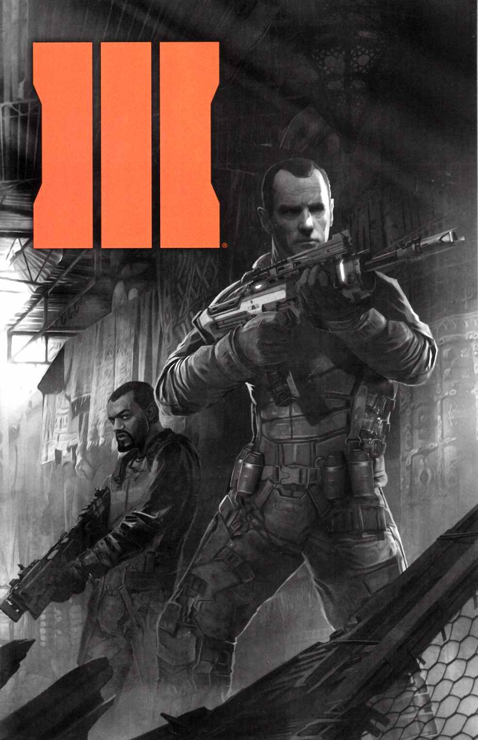 Call of Duty Black Ops III #1 Second Printing [Dark Horse Comic] THUMBNAIL