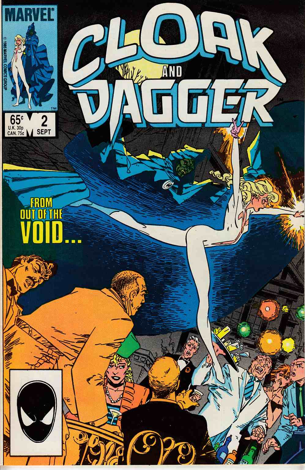 Cloak and Dagger #2 Very Fine (8.0) [Marvel Comic] LARGE