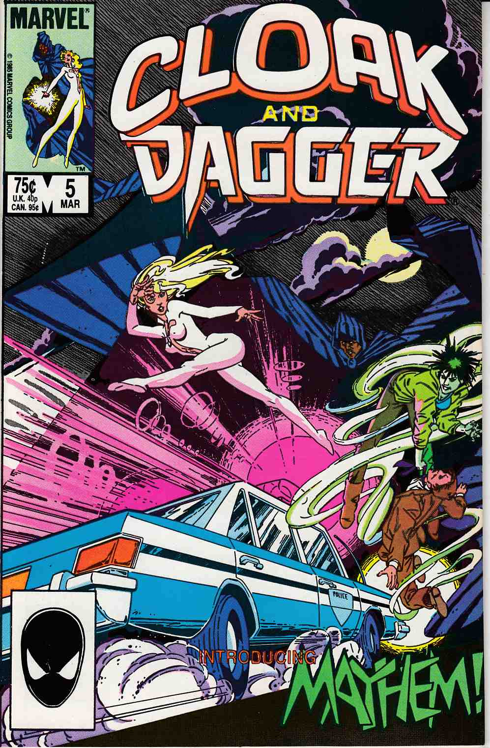 Cloak and Dagger #5 Very Fine (8.0) [Marvel Comic] LARGE