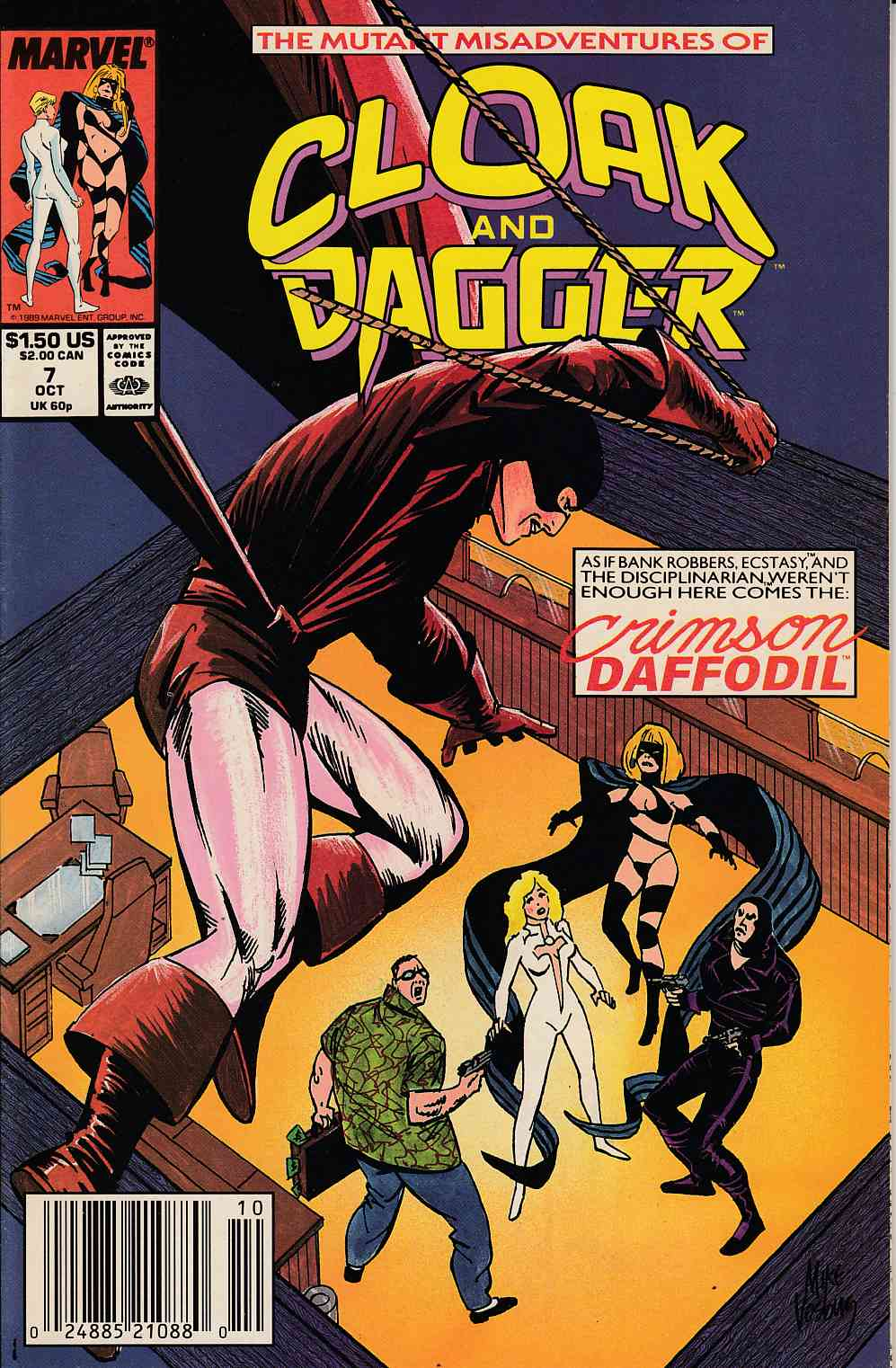 Cloak and Dagger #7 Newsstand Edition Near Mint (9.4) [Marvel Comic] LARGE