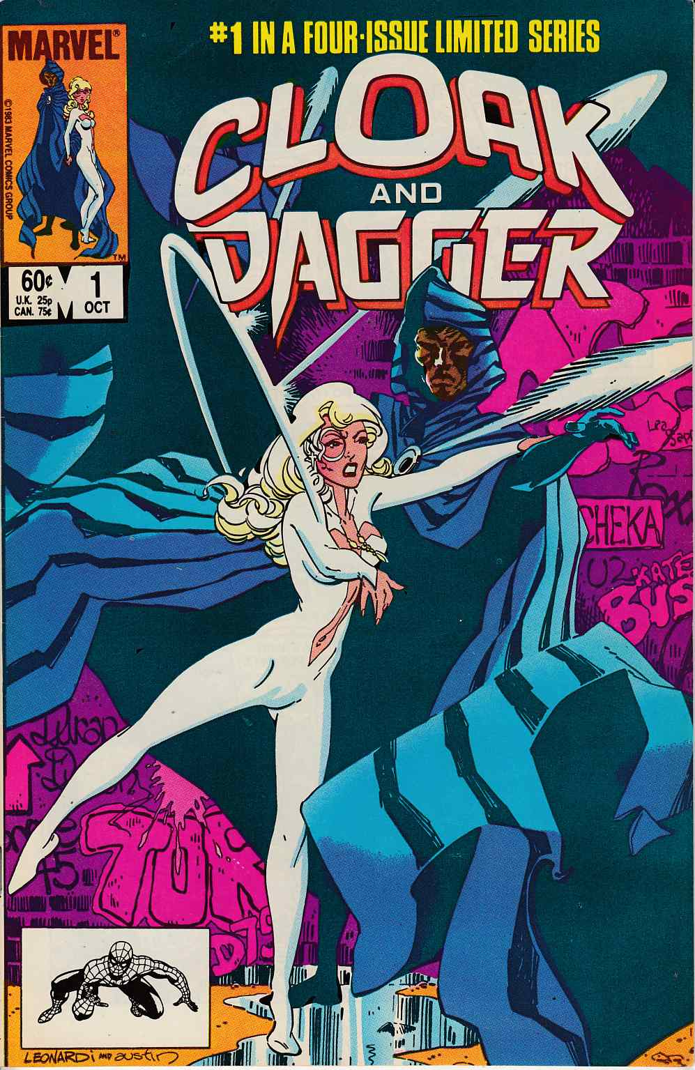 Cloak and Dagger #1 Fine Plus (6.5) [Marvel Comic] LARGE