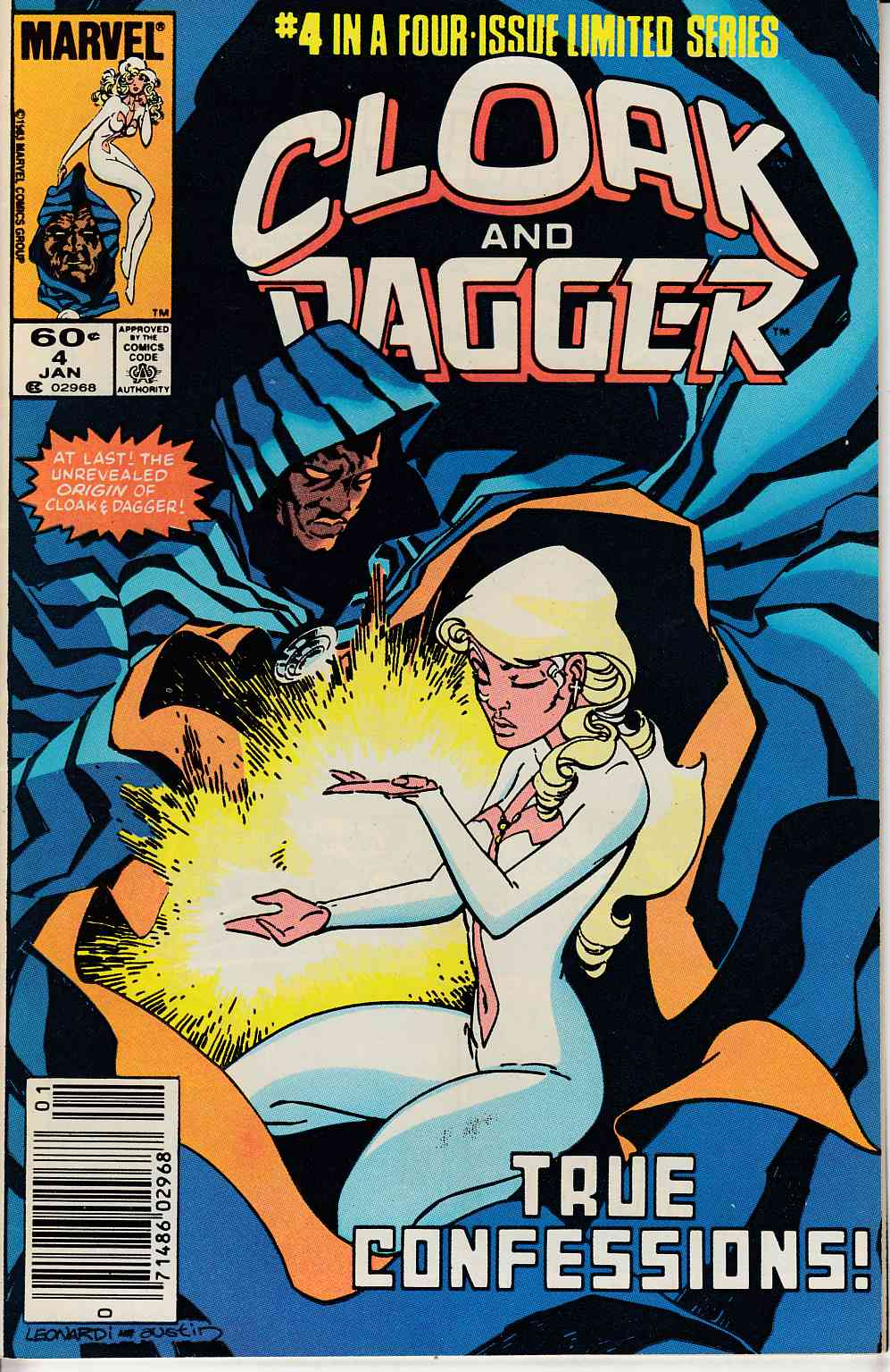 Cloak and Dagger #4 Newsstand Edition Near Mint (9.4) [Marvel Comic] LARGE