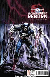 Captain america: reborn #4 (joe kubert variant cover) LARGE