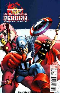 Captain america: reborn #4 (1:25 cassaday variant cover) LARGE