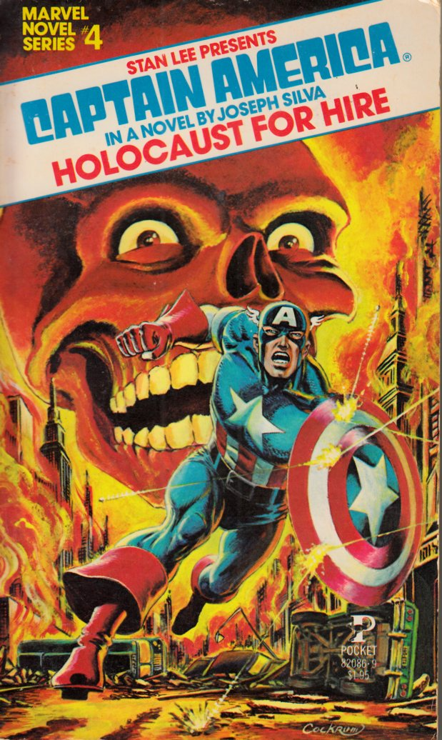 Captain America Holocaust for Hire Novel PB Fine (6.0) [Marvel Softcover] THUMBNAIL