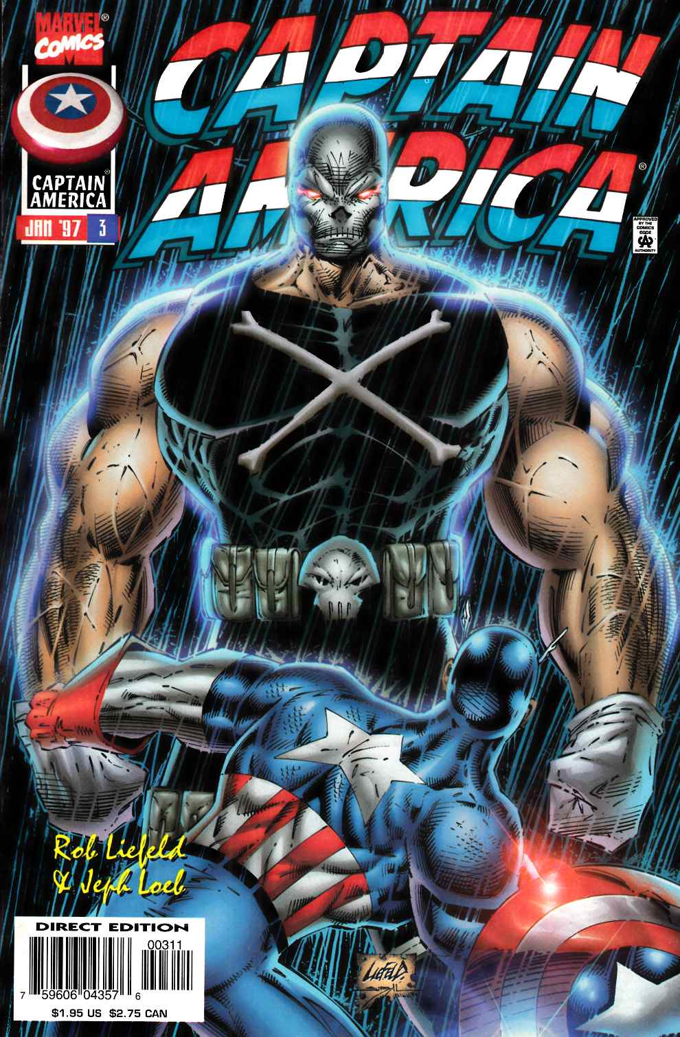 Captain America #3 Near Mint (9.4) [Marvel Comic] THUMBNAIL