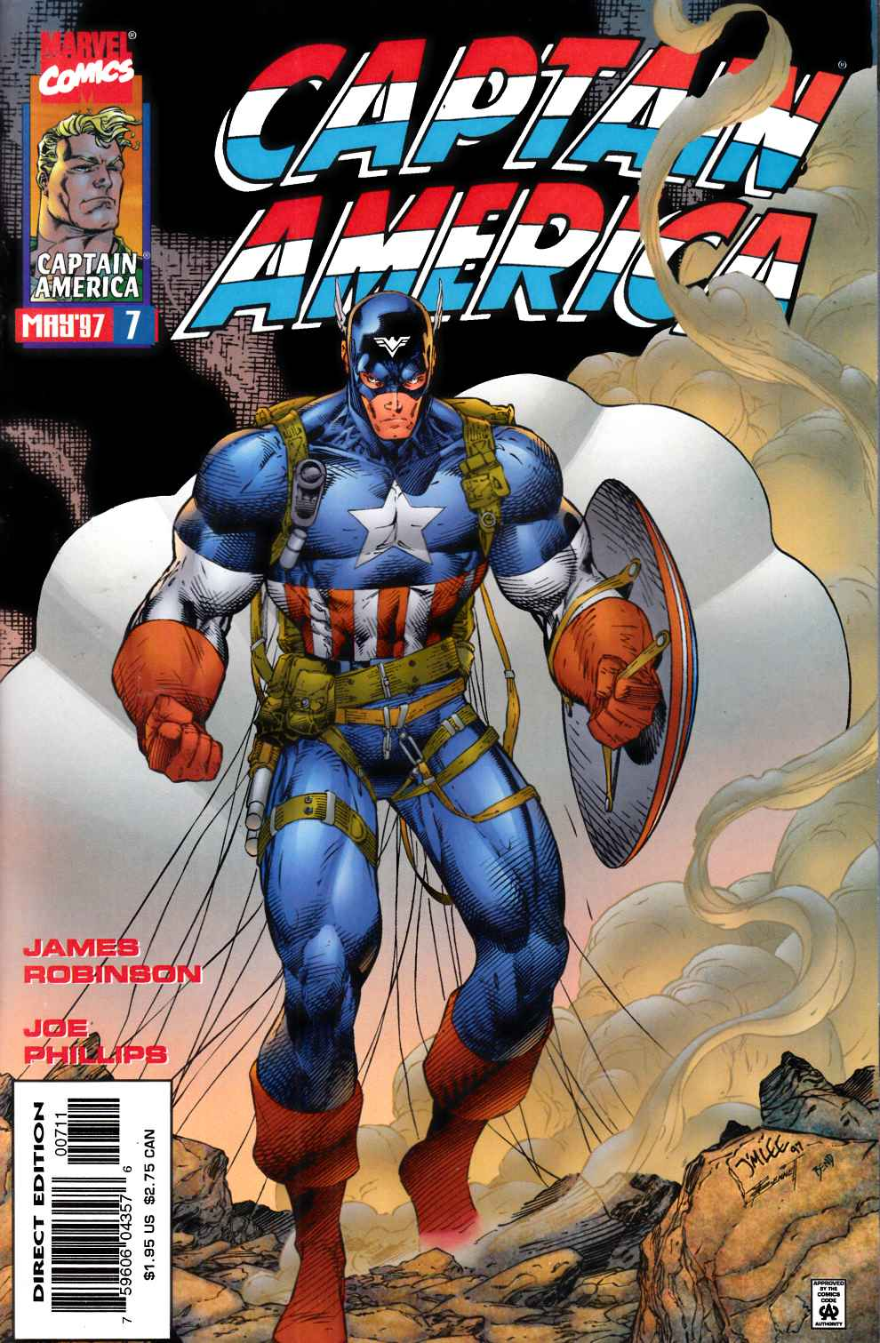 Captain America #7 Near Mint (9.4) [Marvel Comic] THUMBNAIL