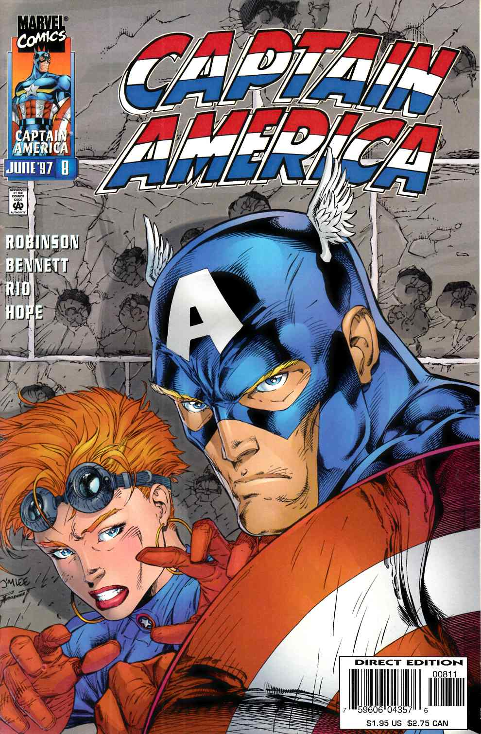 Captain America #8 Near Mint (9.4) [Marvel Comic] THUMBNAIL