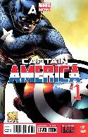 Captain America #1 Quesada Variant Cover Near Mint (9.4) [Marvel Comic] THUMBNAIL