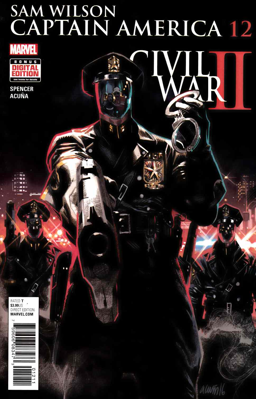 Captain America Sam Wilson #12 [Marvel Comic] LARGE