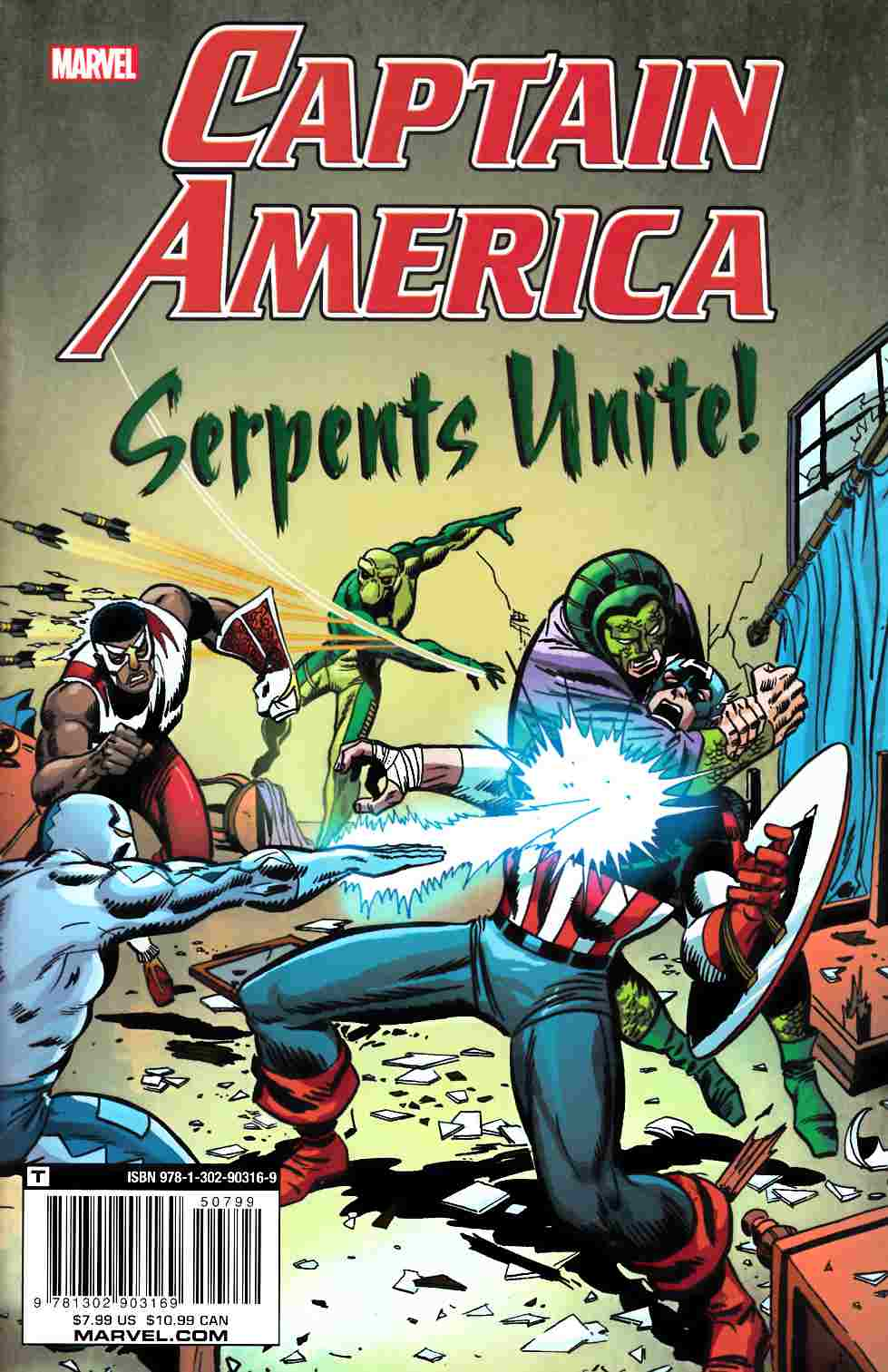 Captain America Serpents Unite [Marvel Comic] LARGE