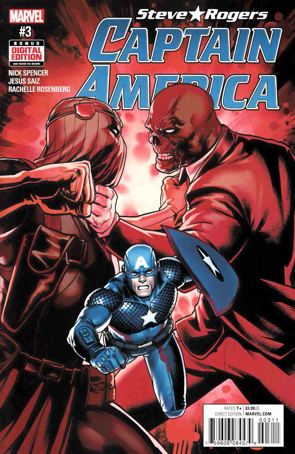 Captain America Steve Rogers #3 [Marvel Comic] LARGE
