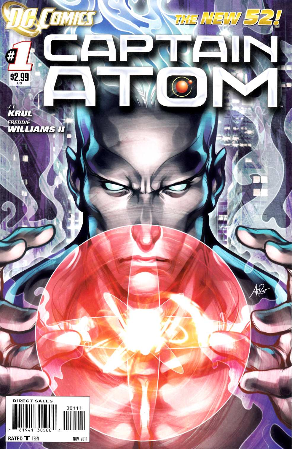 Captain Atom #1 Second Printing [DC Comic]_THUMBNAIL