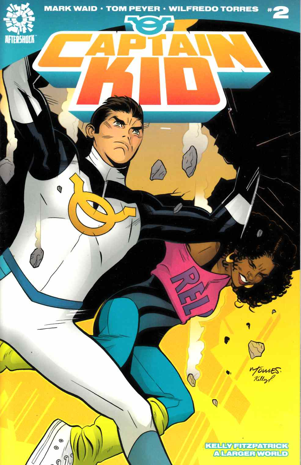 Captain Kid #2 [Aftershock Comic] LARGE