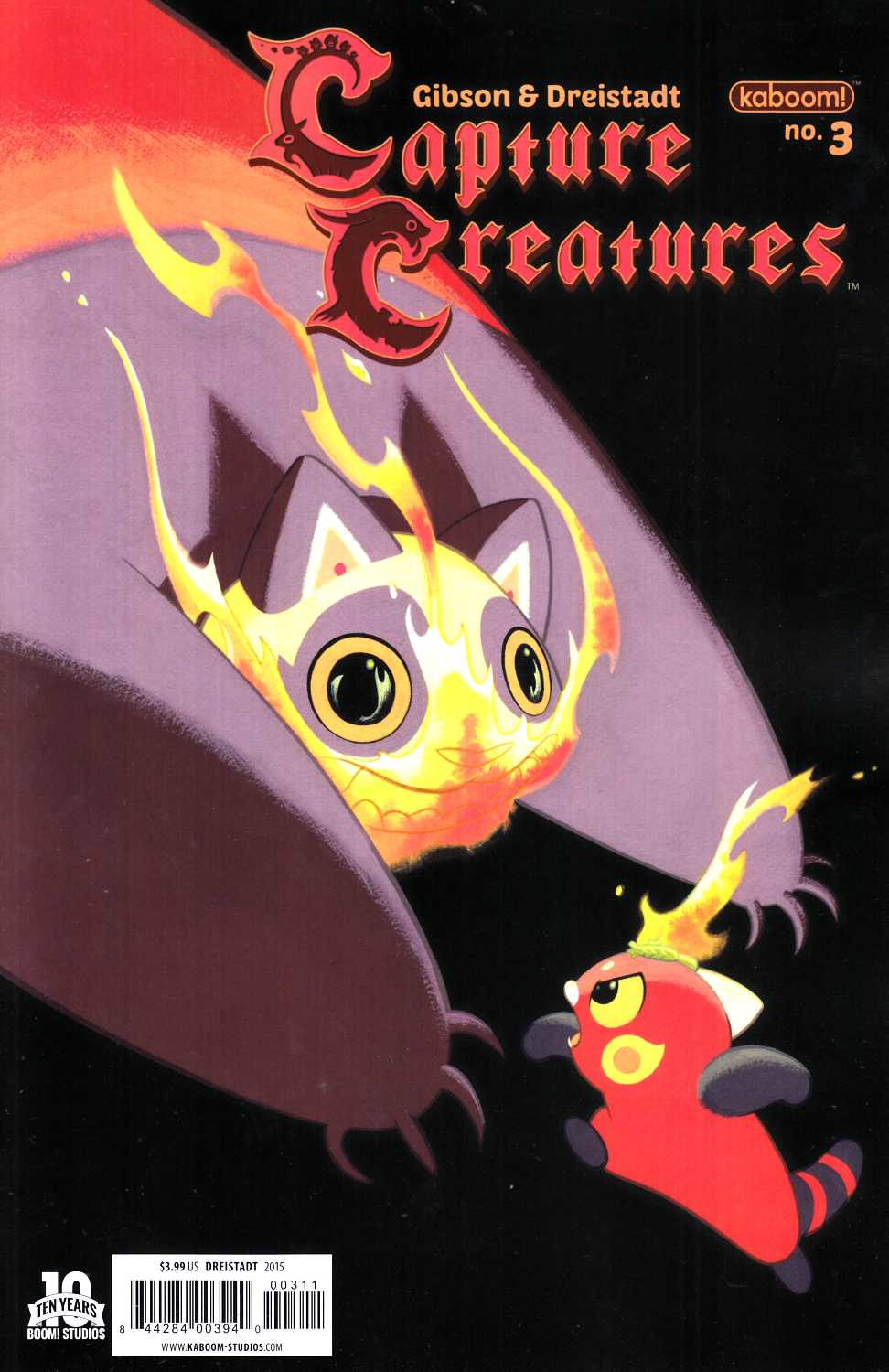 Capture Creatures #3 Cover A [Boom Comic] THUMBNAIL