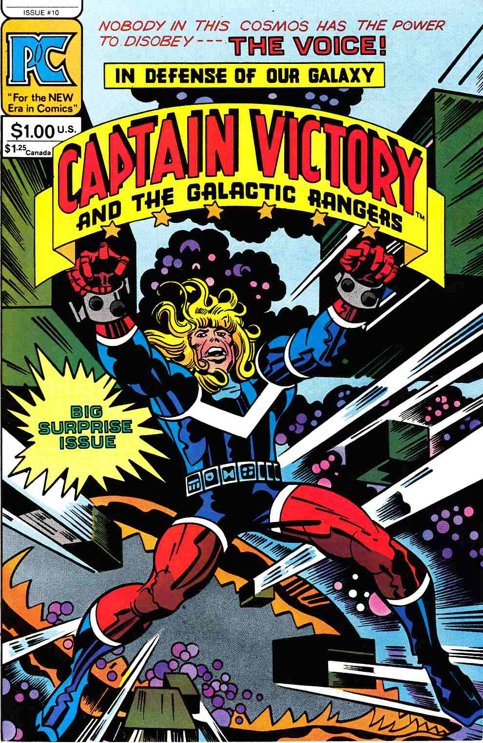 Captain Victory And The Galactic Rangers #10 [Pacific Comic] THUMBNAIL