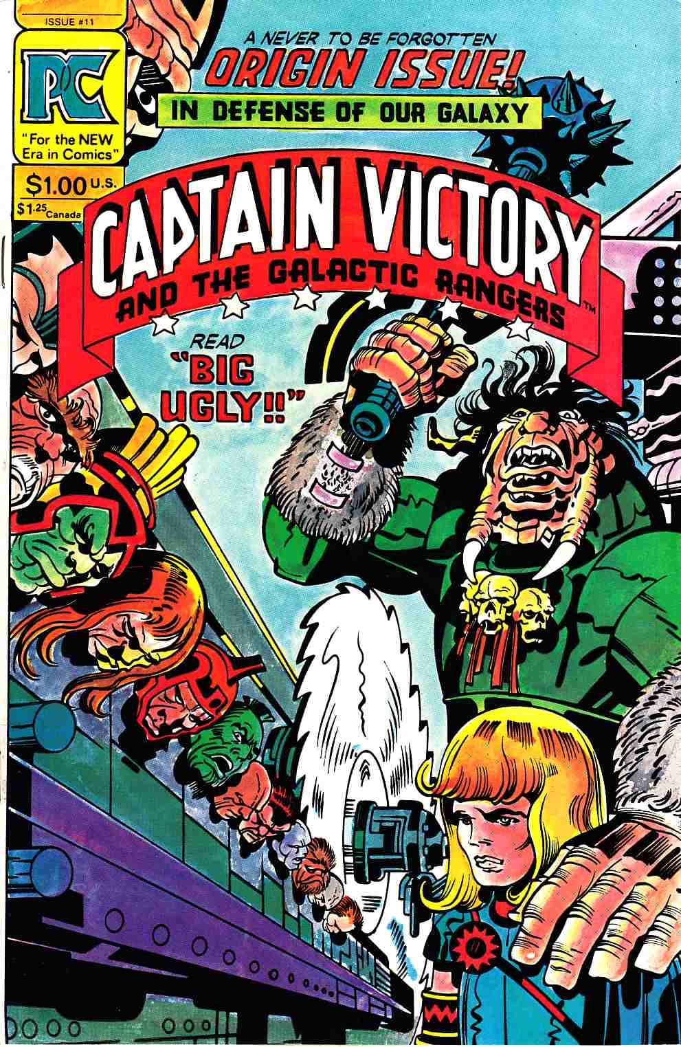 Captain Victory And The Galactic Rangers #11 [Pacific Comic] THUMBNAIL