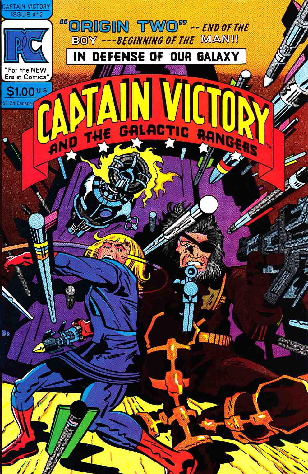Captain Victory And The Galactic Rangers #12 [Pacific Comic] THUMBNAIL