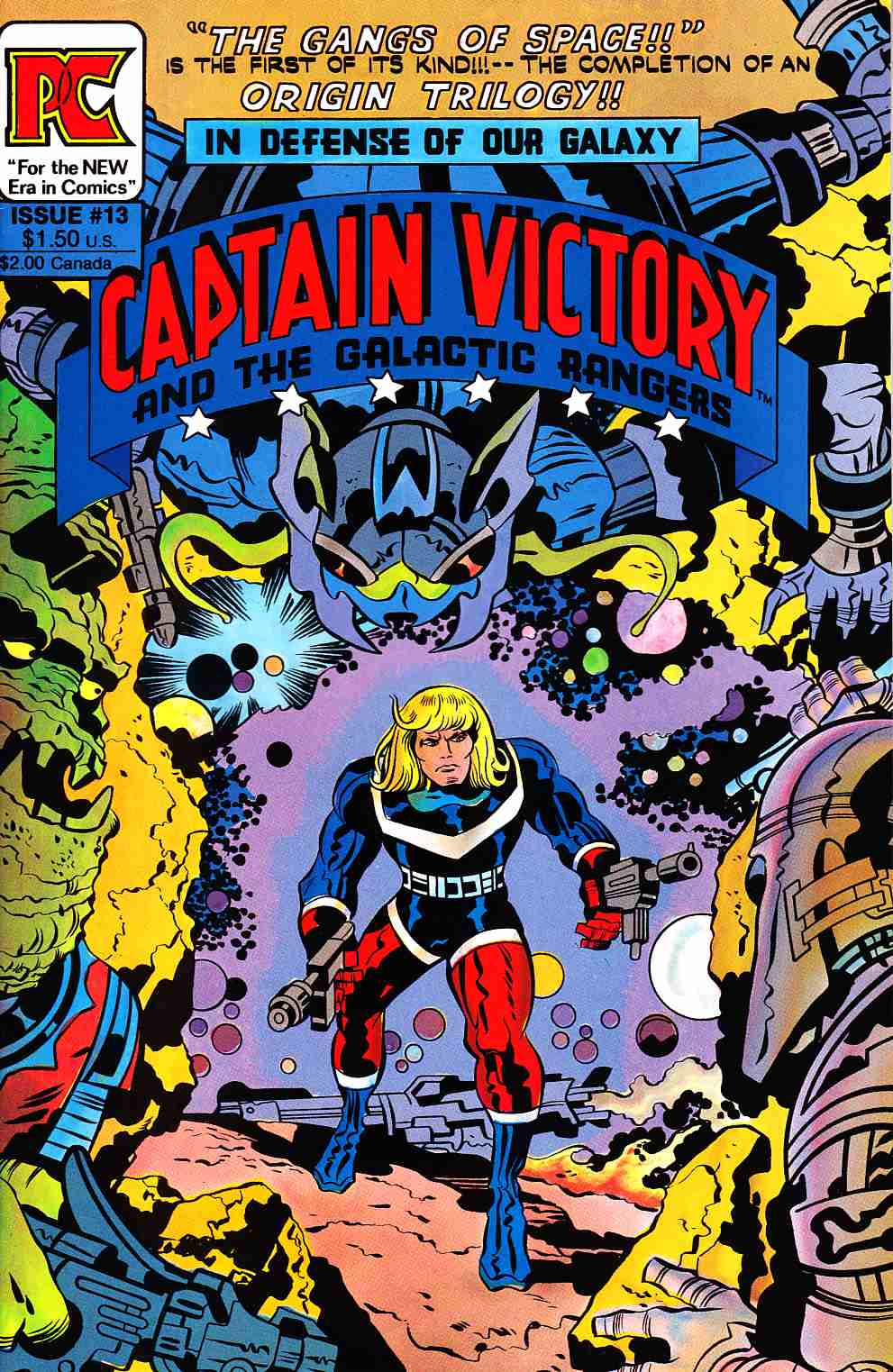 Captain Victory And The Galactic Rangers #13 [Pacific Comic] THUMBNAIL