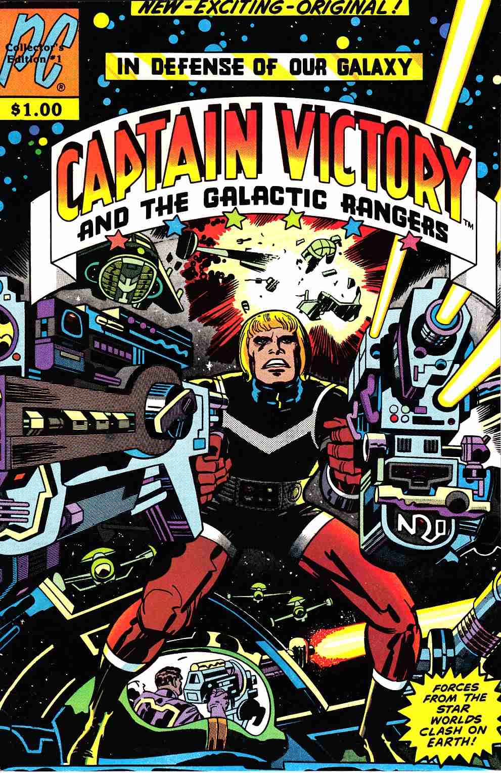 Captain Victory And The Galactic Rangers #1 [Pacific Comic] THUMBNAIL