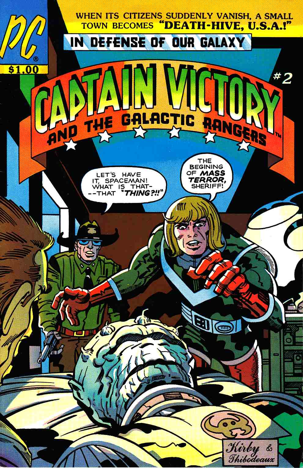 Captain Victory And The Galactic Rangers #2 [Pacific Comic] THUMBNAIL