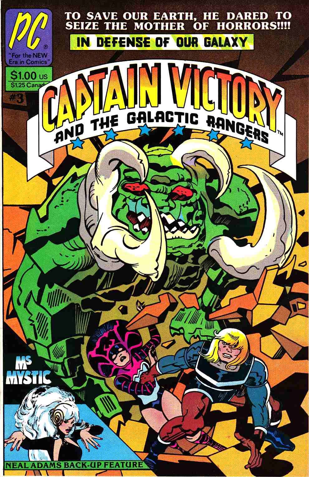 Captain Victory And The Galactic Rangers #3 [Pacific Comic] THUMBNAIL