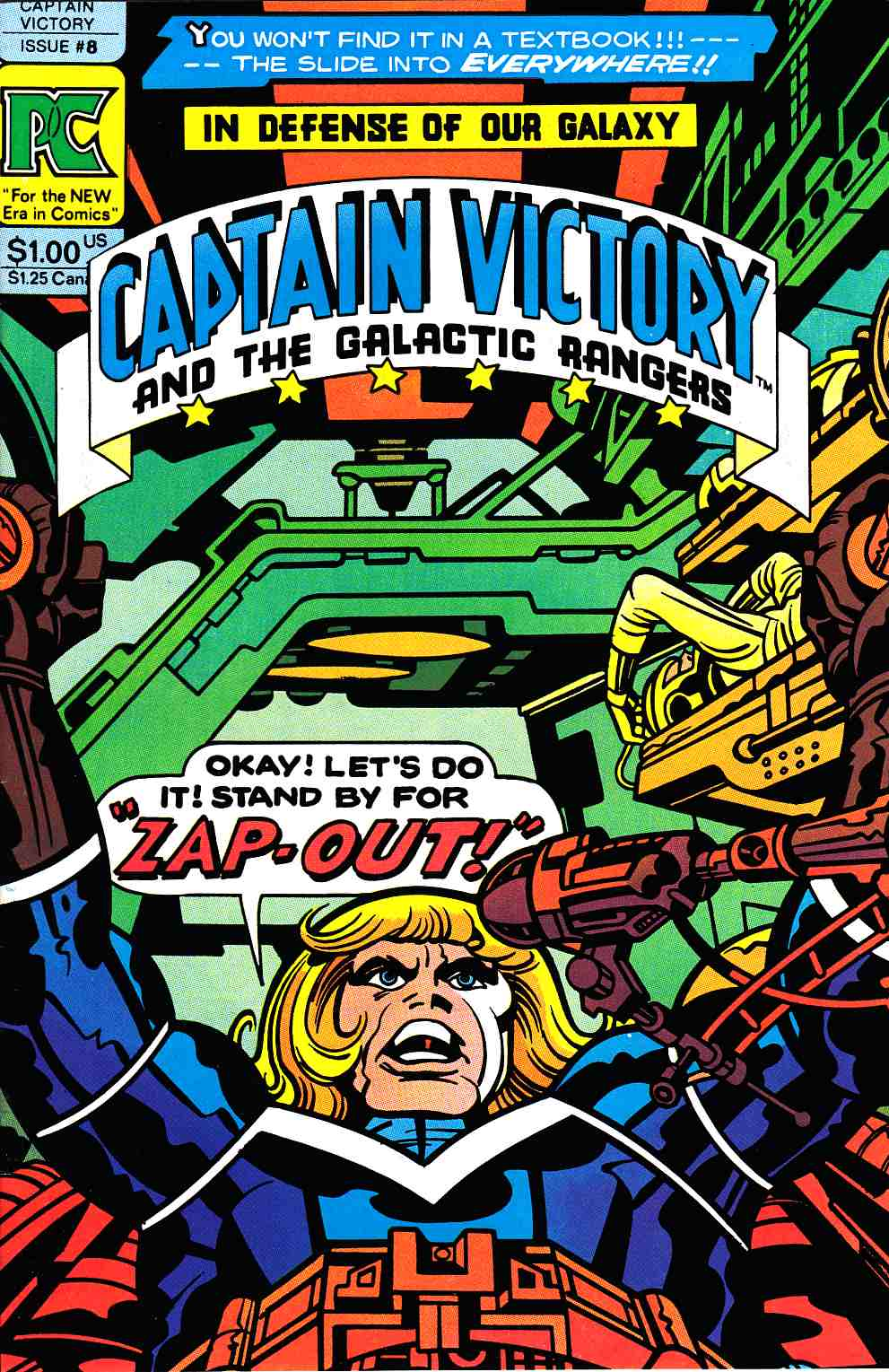 Captain Victory And The Galactic Rangers #8 [Pacific Comic] THUMBNAIL