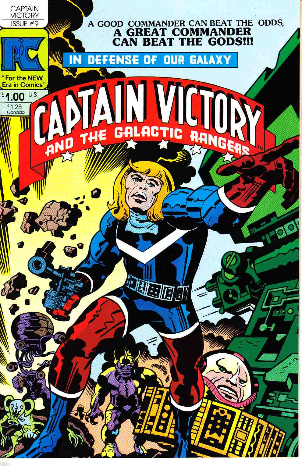 Captain Victory And The Galactic Rangers #9 [Pacific Comic] THUMBNAIL