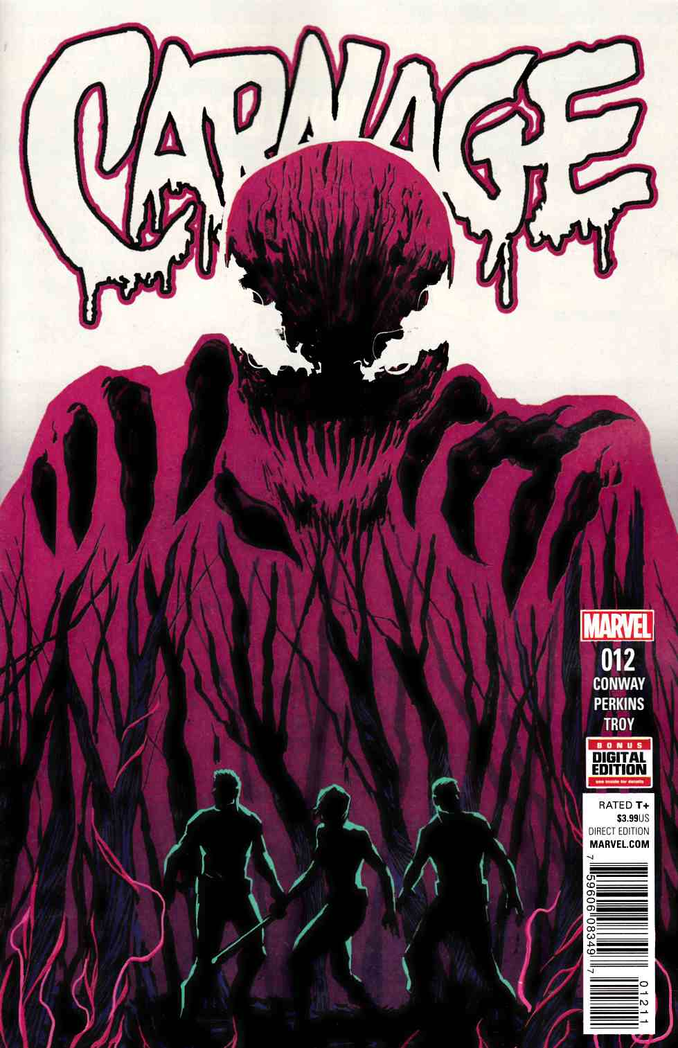 Carnage #12 [Marvel Comic] LARGE