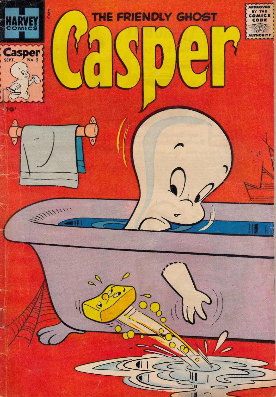Casper the Friendly Ghost #2 [Harvey Comic]