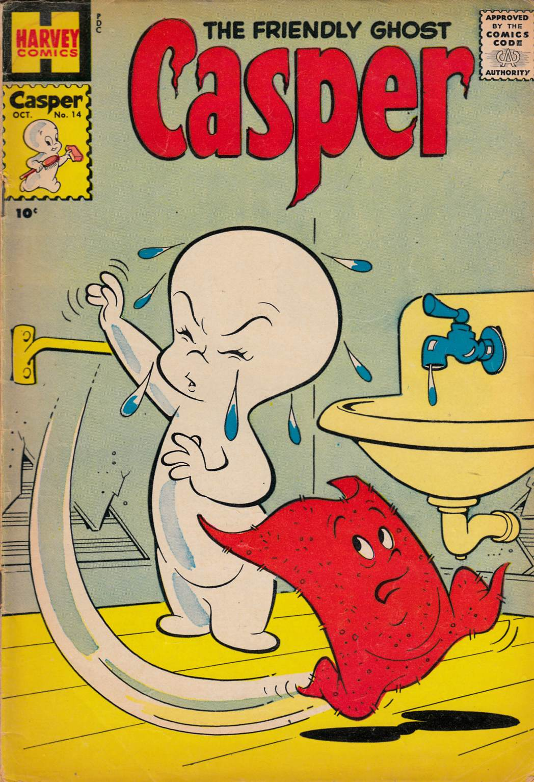 Casper the Friendly Ghost #14 Good/Very Good (3.0) [Harvey Comic] THUMBNAIL