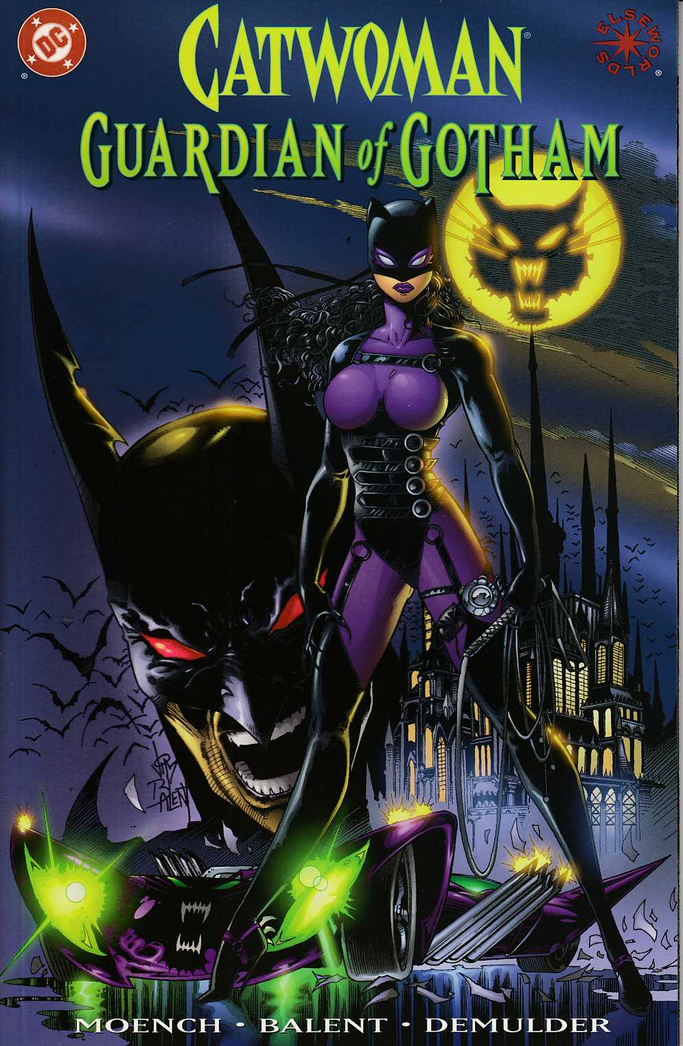 Catwoman Guardian of Gotham #1 Near Mint (9.4) [DC Comic] LARGE
