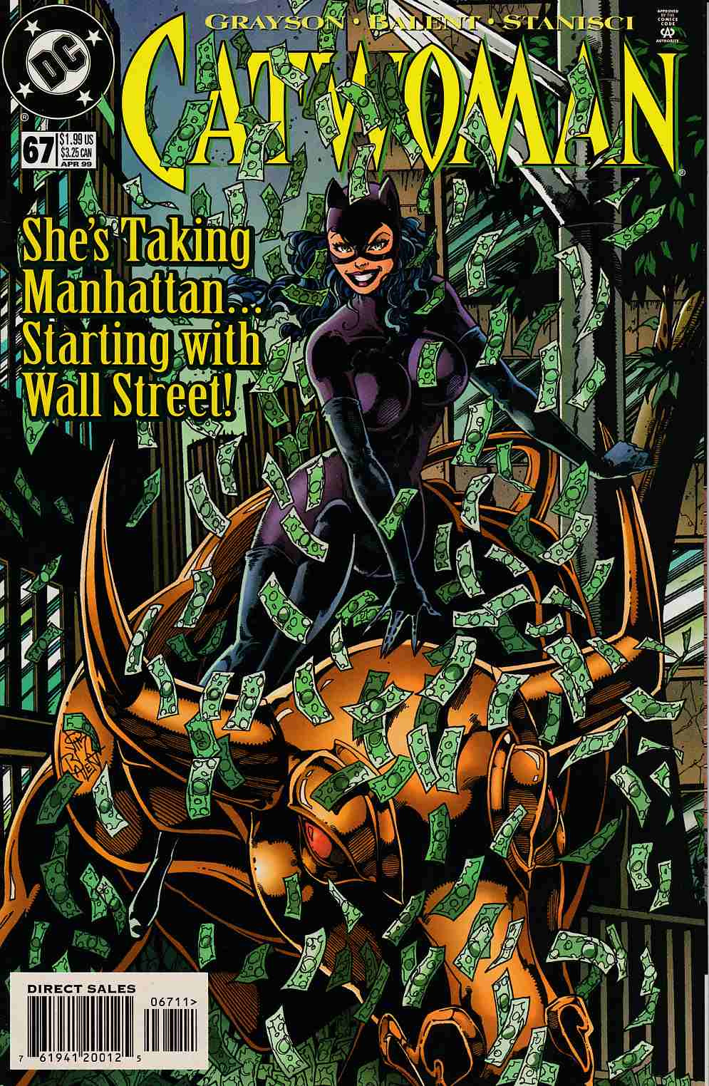 Catwoman #67 Near MInt (9.4) [DC Comic] LARGE
