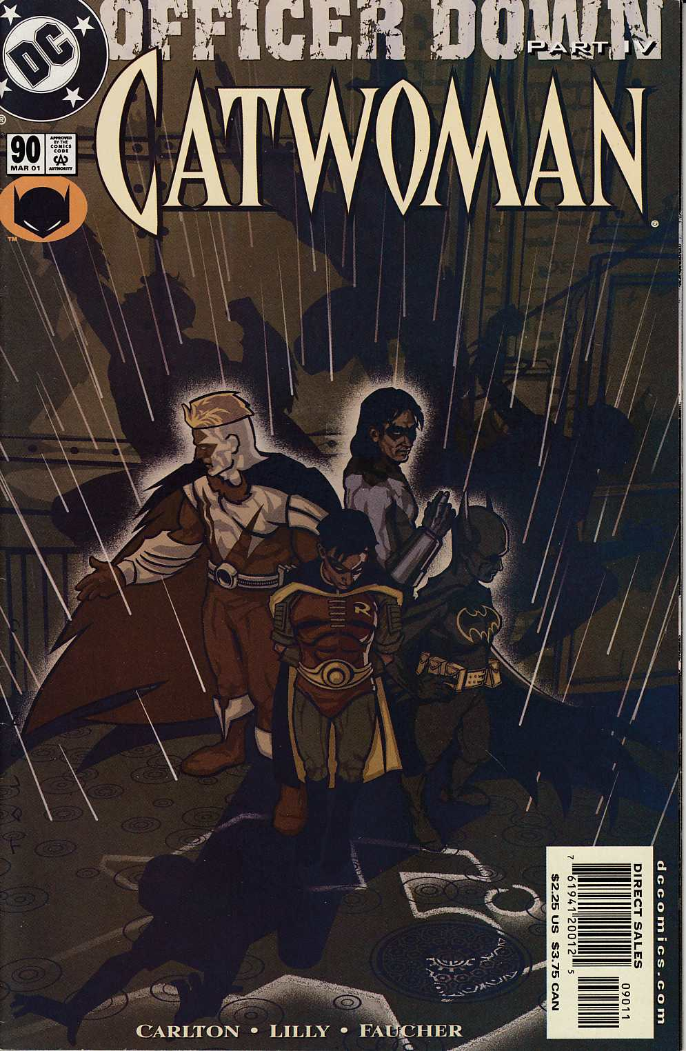 Catwoman #90 Very Fine (8.0) [DC Comic] LARGE