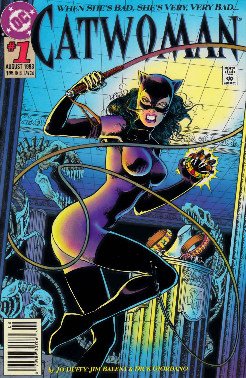 Catwoman #1 Newsstand Edition Near Mint Minus (9.2) [DC Comic] THUMBNAIL