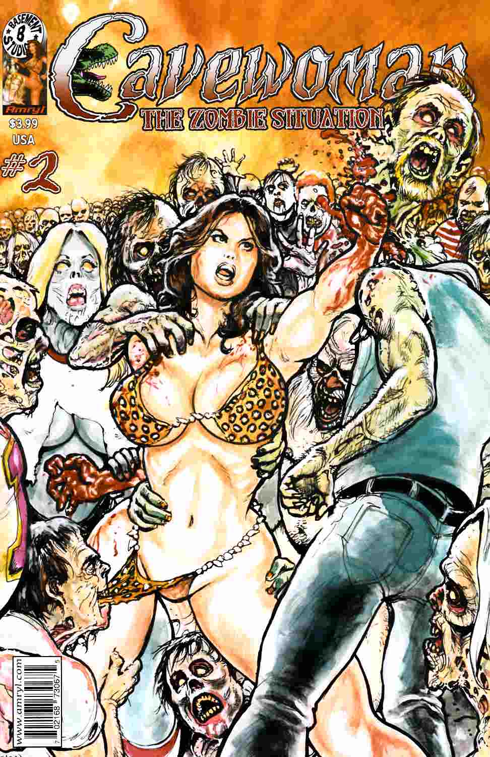 Cavewoman Zombie Situation #2 Cover A [Amryl Comic] THUMBNAIL