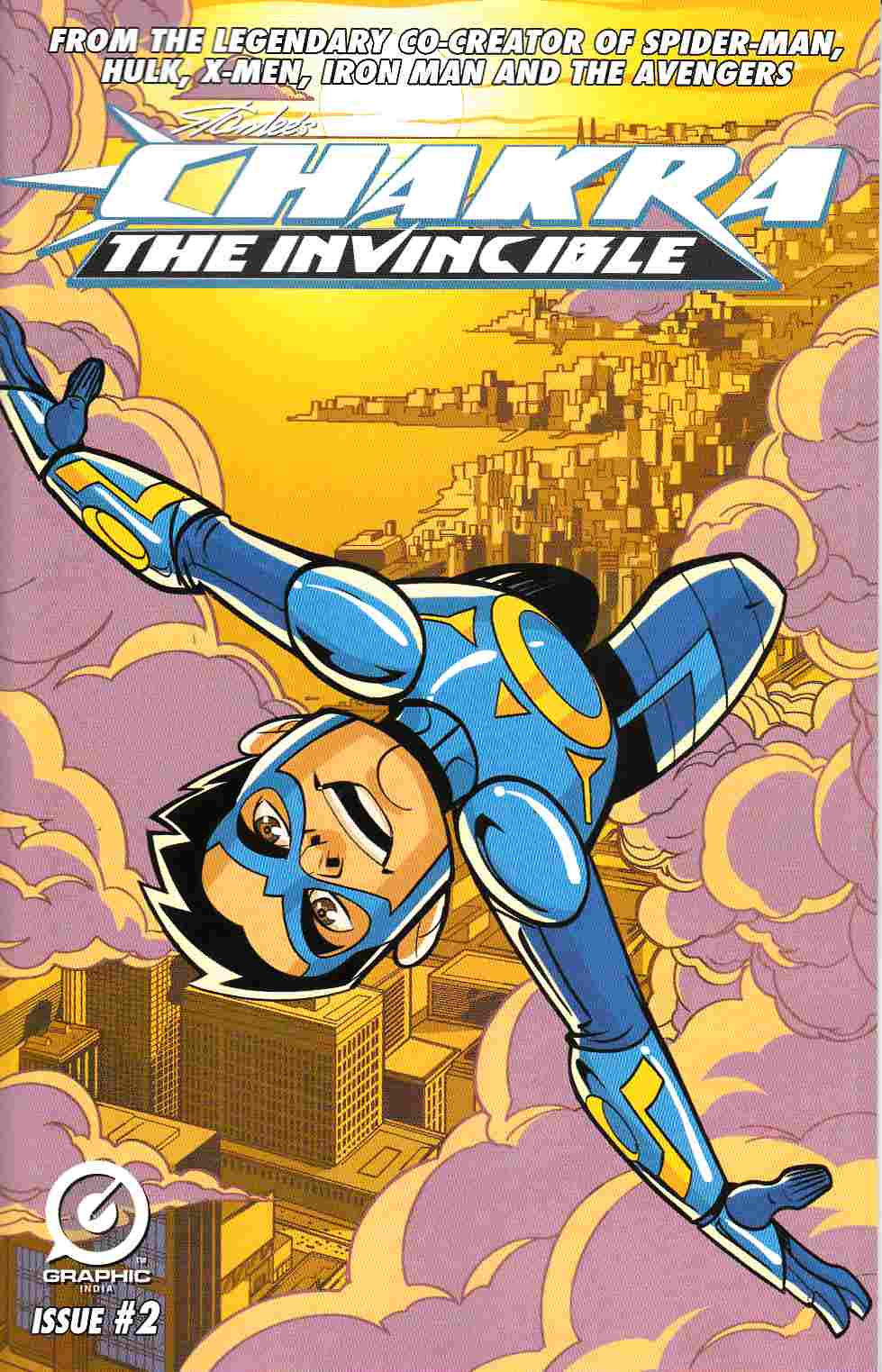 Stan Lee Chakra the Invincible #2 [Graphic India Comic] THUMBNAIL
