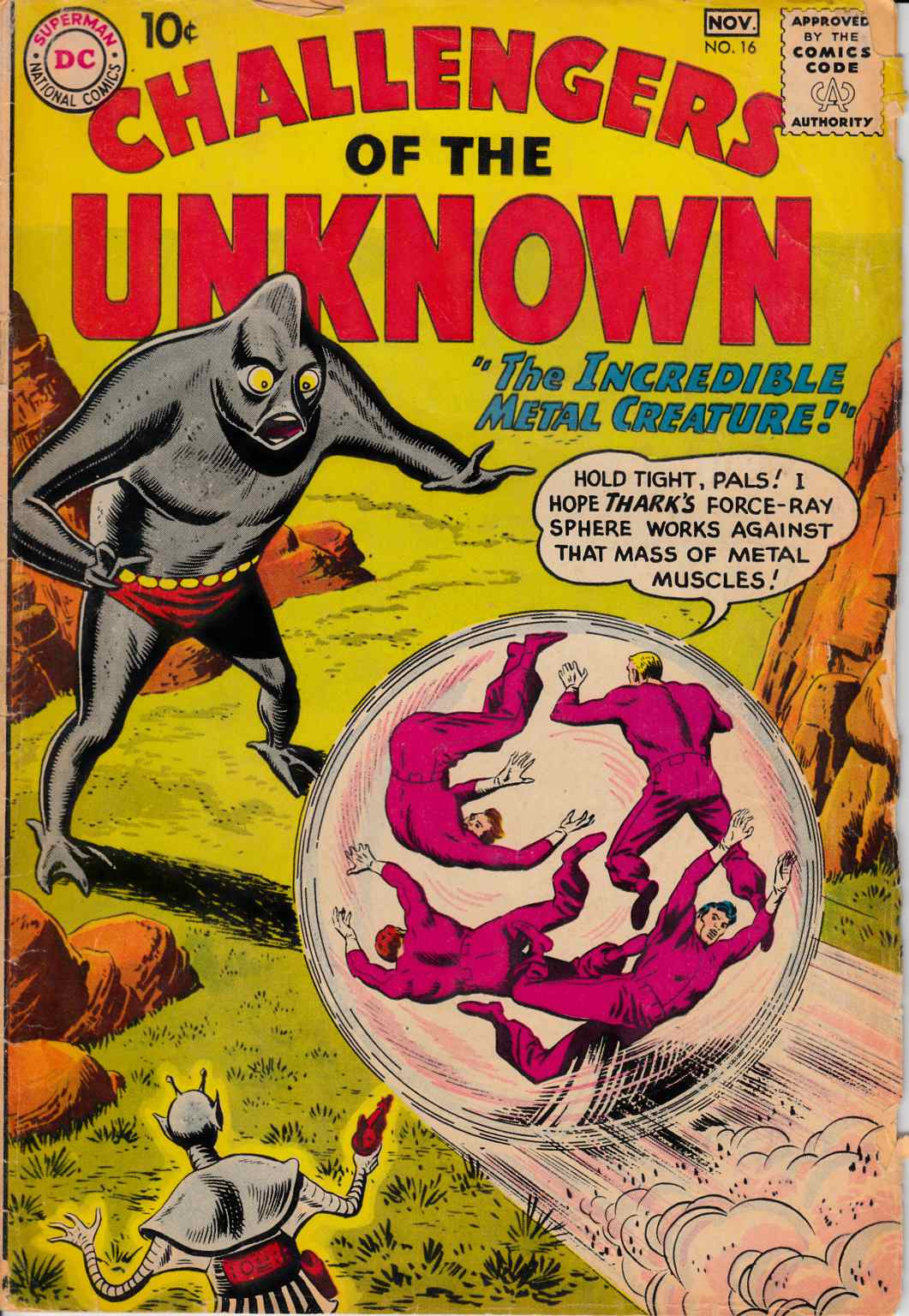 Challengers of the Unknown #16 [DC Comic]_THUMBNAIL