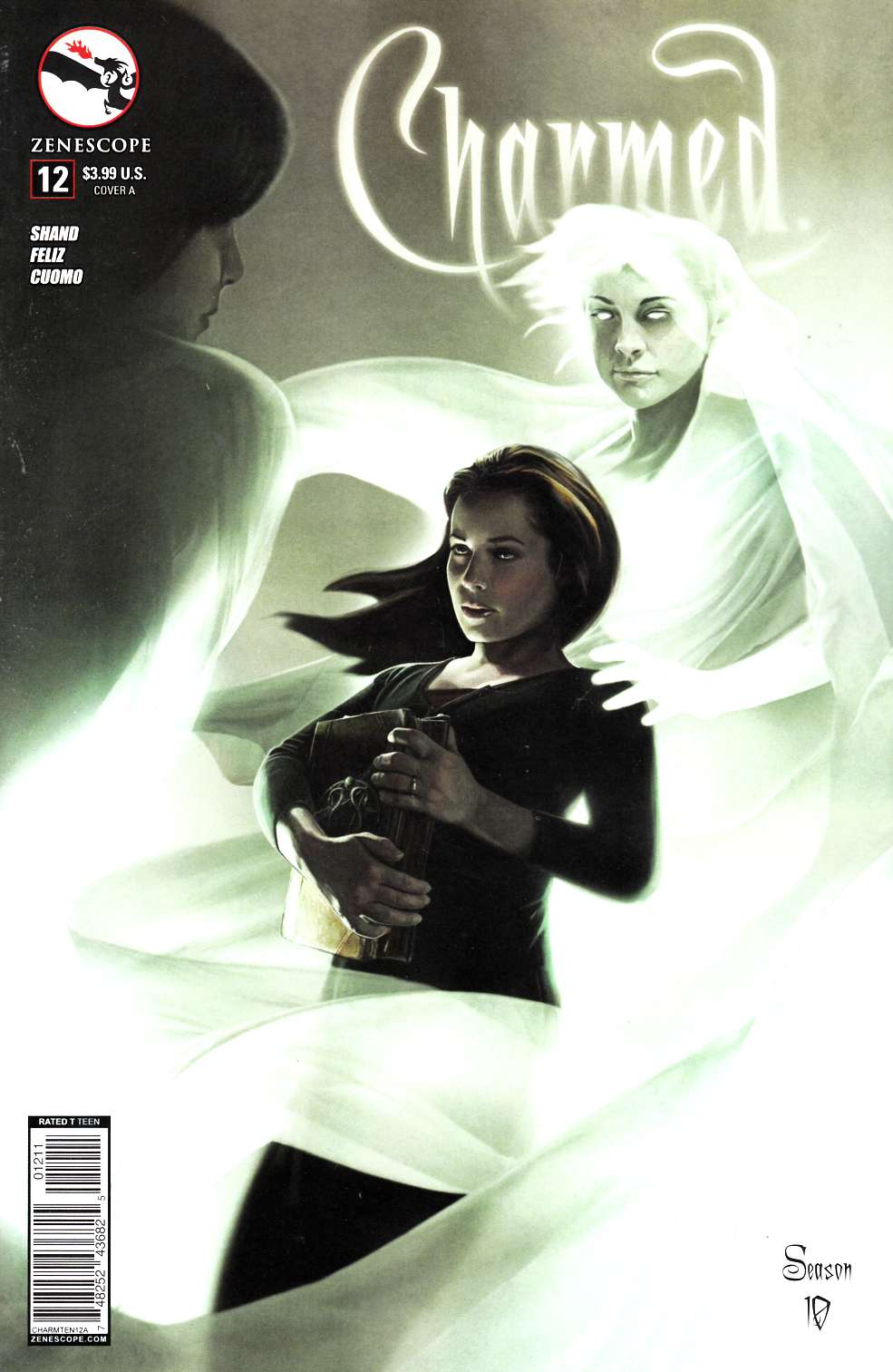 Charmed Season 10 #12 Virtue Cover A- Seidman [Zenescope Comic] THUMBNAIL