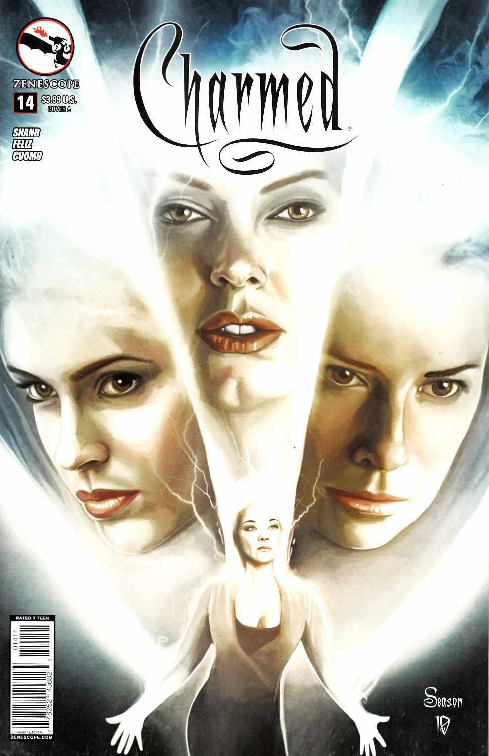 Charmed Season 10 #14 Cover A- Seidman [Zenescope Comic] THUMBNAIL