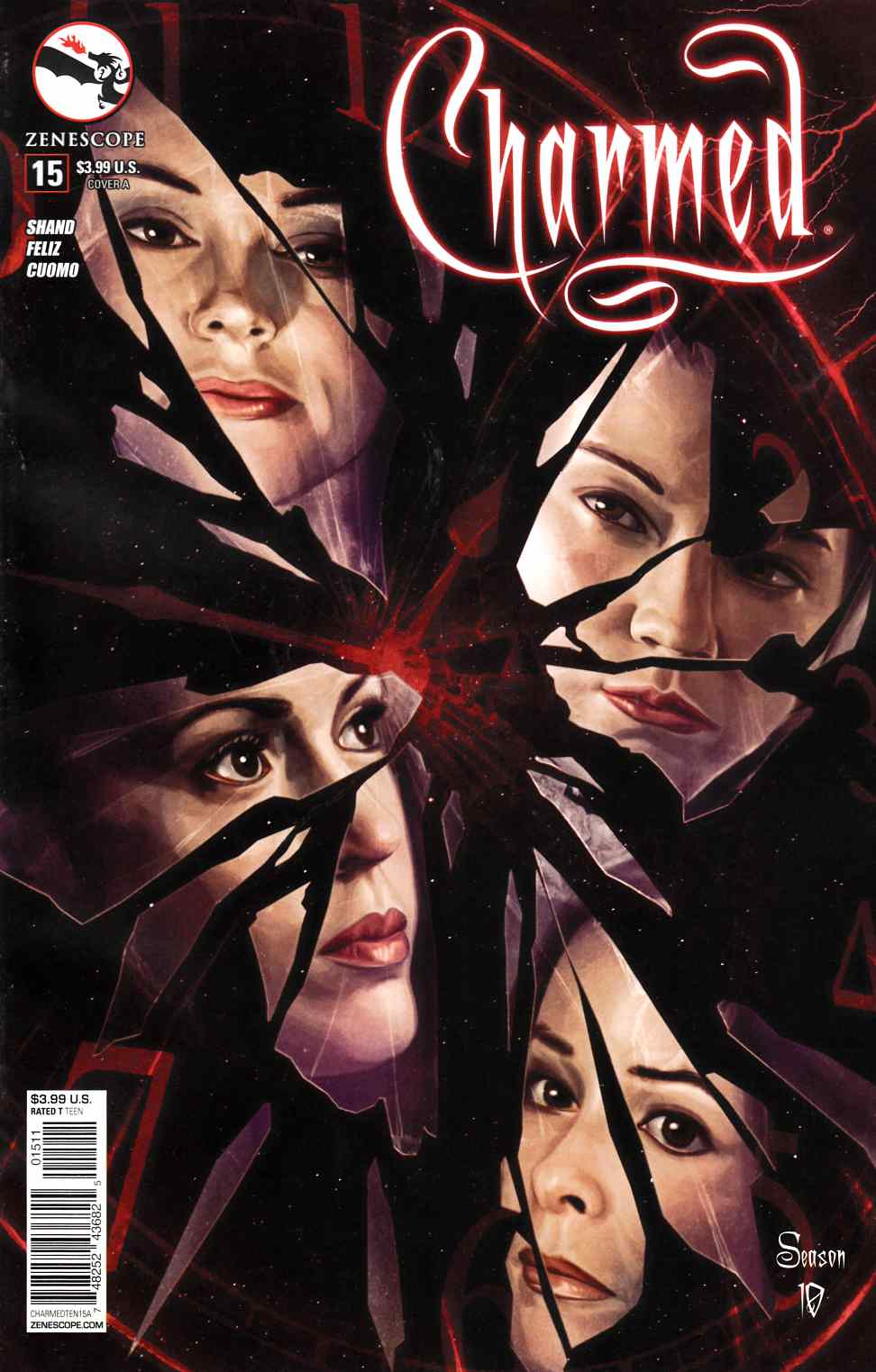 Charmed Season 10 #15 [Zenescope Comic] THUMBNAIL