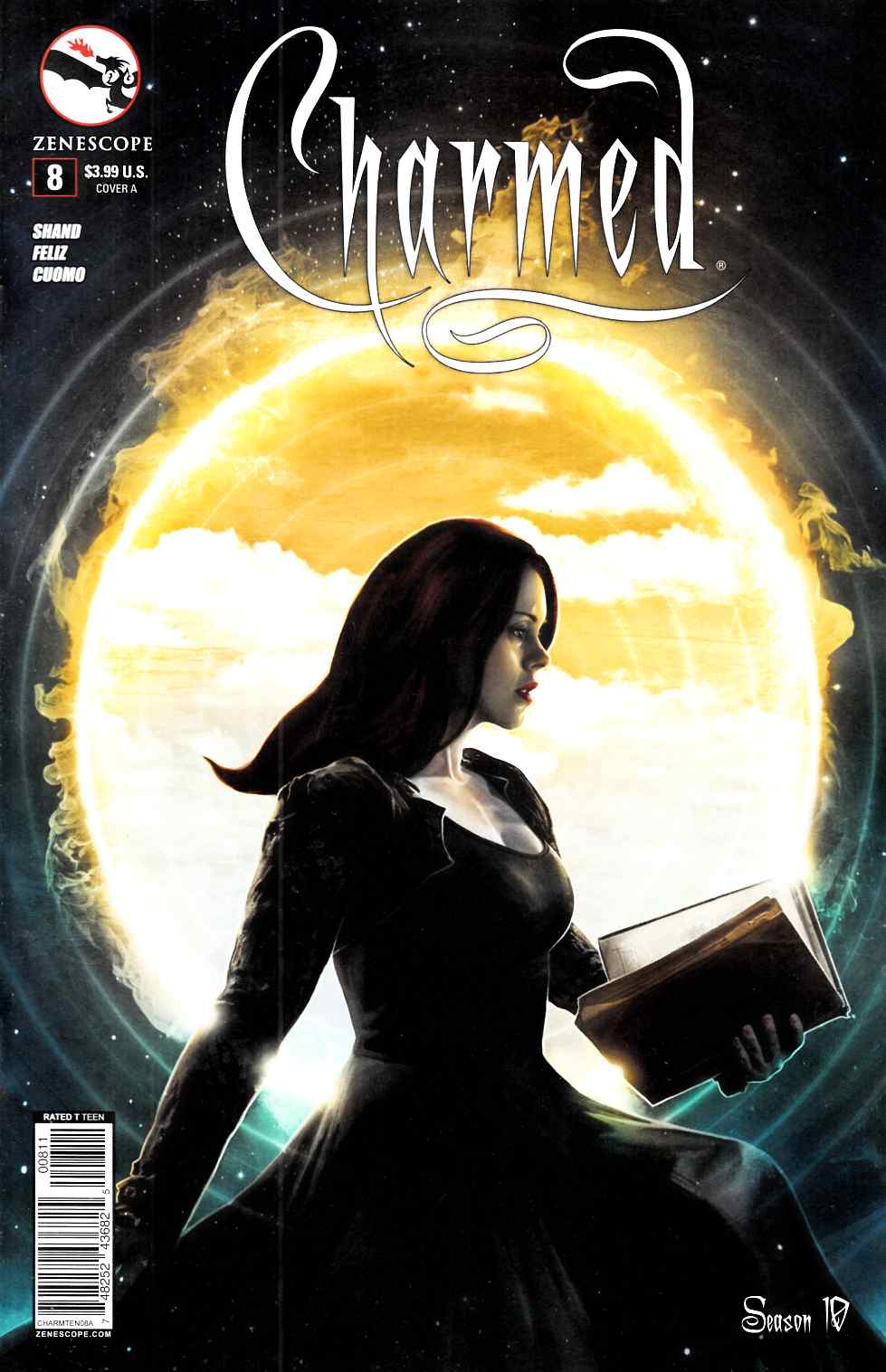 Charmed Season 10 #8 Cover A- Cuomo [Zenescope Comic] THUMBNAIL
