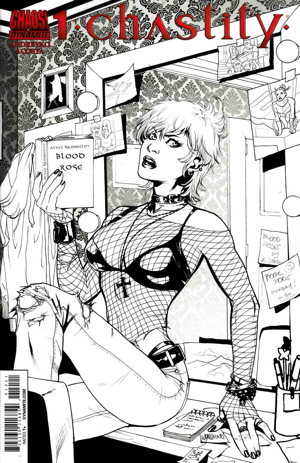 Chastity #1 Lupacchino B&W Incentive Cover [Comic] THUMBNAIL