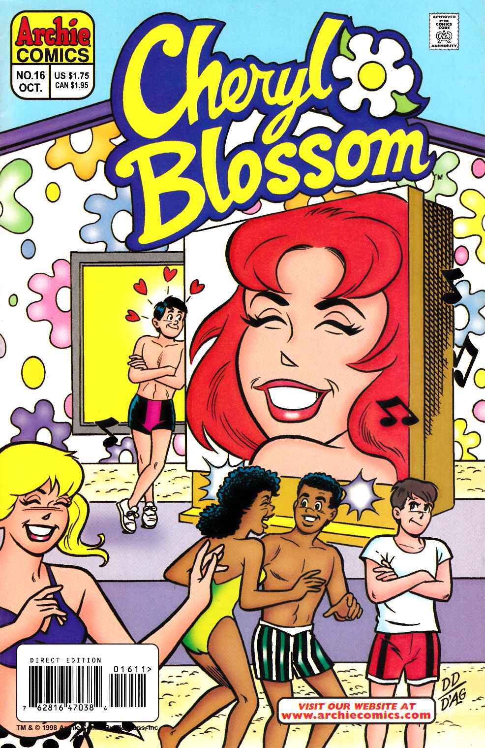 Cheryl Blossom #16 [Comic] LARGE