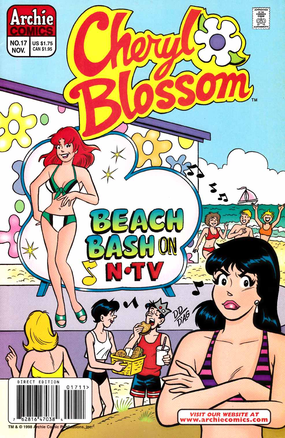 Cheryl Blossom #17 [Comic] LARGE
