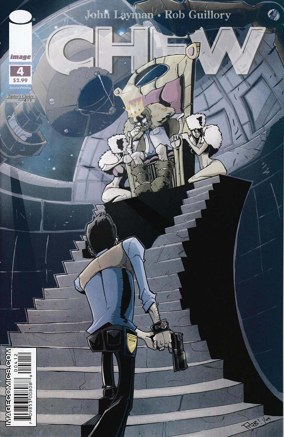 Chew #4 Second Printing Near Mint (9.4) [Image Comic] THUMBNAIL
