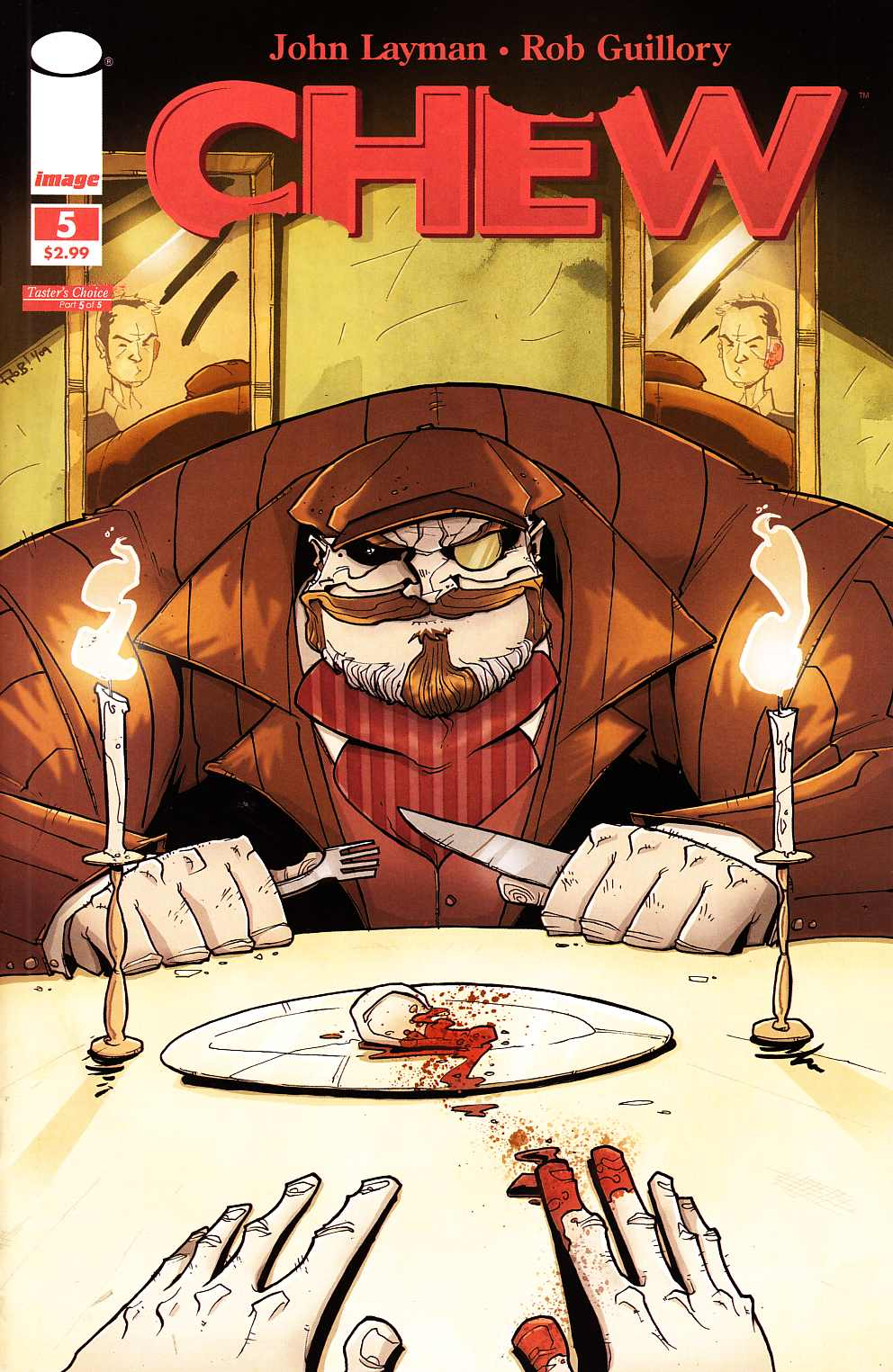 Chew #5 [Image Comic]